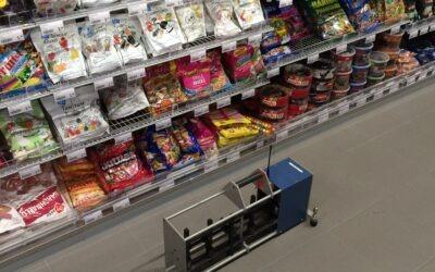 Supermarktvloeren, hoe voorkom je geluidsoverlast